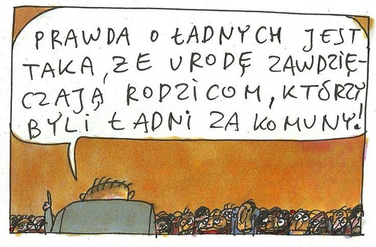 Marek Raczkowski dla Gazeta.pl - 01.01.2014 - rys. Marek Raczkowski