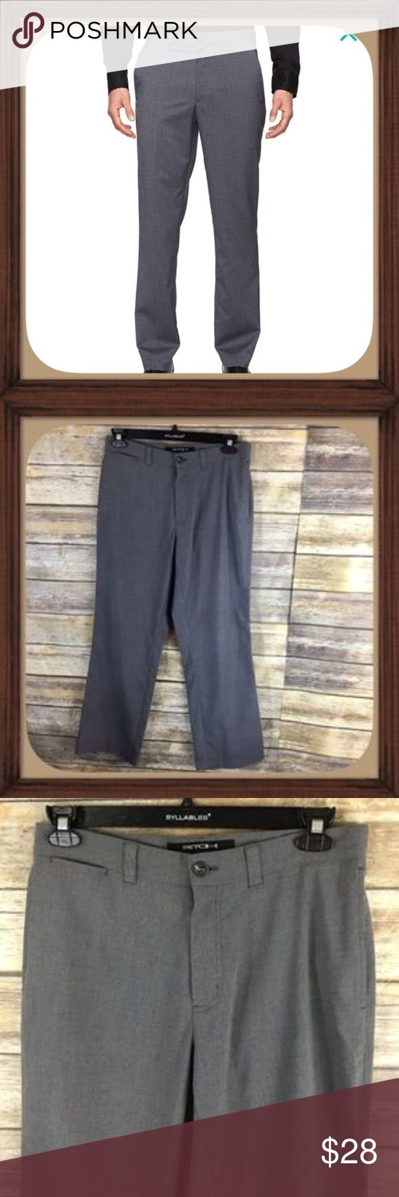 Kenneth Cole NY Gray Stretch Dress Pants EUC Kenneth Cole Men's Gray Stretch Dress Pants. Size 31/30. In excellent used condition. Kenneth Cole Pants Dress