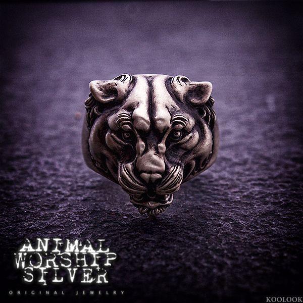 #ANIMALWORSHIP #飾品 #銀飾 #戒指 #豹 #Panther