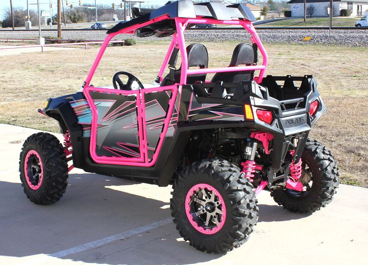 Custom Pink ATV Wrap - Zilla Wraps