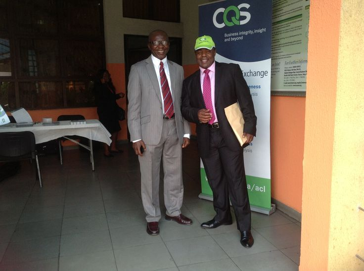 With our local partner in Lagos, Nigeria attending the Audit Committee meeting