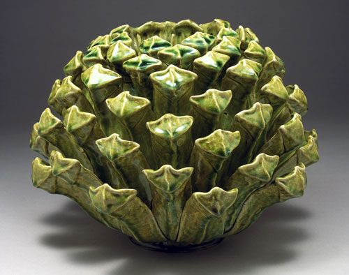 Kate Malone- Opening Pine Cone Vase