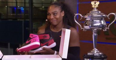 1/28/17 Serena Williams Wins 7th Australian Open, Gets Laced With Exclusive Jordans ...  Serena Williams solidified her status as the greatest athlete of her generation by winning the Australian Open this weekend defeating sister Venus Williams. Serena improves to 7-2 v Venus in Slams ...  hiphopwired.com