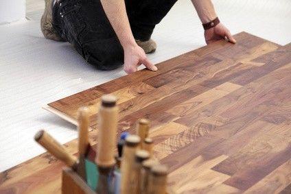 Pose de parquet flottant sur plancher chauffant Tradi par Caleosol