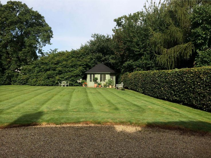 It might not be the most original or inspiring idea for a garden, but you can't beat a large immaculate lawn (perfect for football or pitch and putt) and a well positioned elegant summer house. Play a bit of sport then chill out in style! The Ribble octagonal summer house is available for £3218, including shipping, from GardenLife Log Cabins: http://bit.ly/1pl6EyF