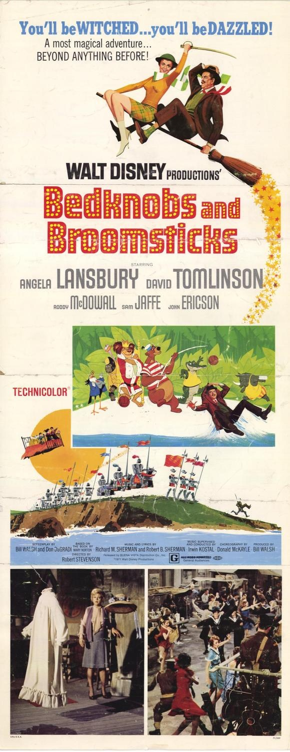 Bedknobs and Broomsticks one of my favorite childhood movies <3