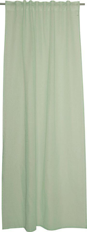 Vorhang, Schöner Wohnen, »Soho«, mit verdeckten Schlaufen (1 Stück) ab 39,29€. Transparenter Stoff, Leinenoptik, mit verdeckter Schlaufe bei OTTO