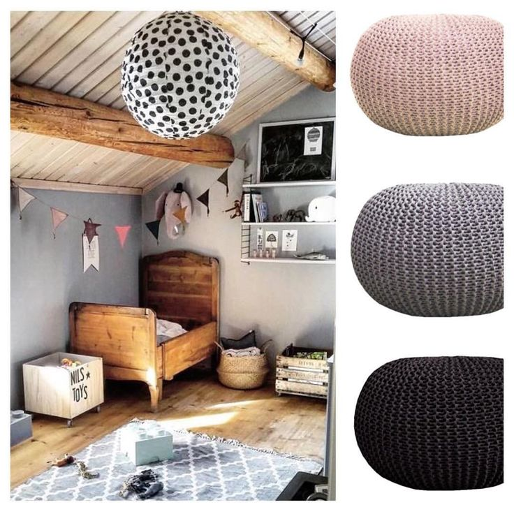 Choose a Pouffe, for this guest room. Beige  grey  Black #poufs_shtokmanlab