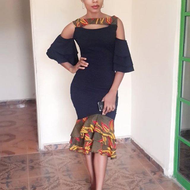 Top Ten Creative And Unique Ankara Gown Styles In Nigeria - Dabonke