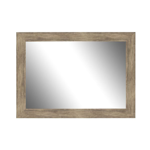 c0b53016c8731 Areli Weathered Sand Barnwood Wall Mirror