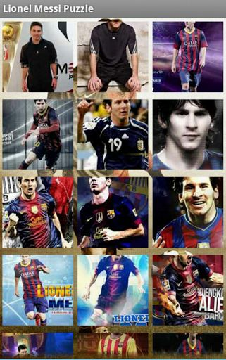 Get This Lionel Messi Puzzle Games for Free.<br>Enjoy to Play This Lionel Messi Games.<br>Just Drag the pieces to the right place to create the image complete.<br>Once completed. You can Also set As Wallpaper when You Finish the puzzle. Try to complete all levels<br>Play the Games and enjoy the music.<p>Note:<br>This is unofficial app. This is Fans App That Create inspiring by Lionel Messi Wallpapers.<p>Tags :<br>lionel messi, lionel messi biography, lionel messi salary, lionel messi net…