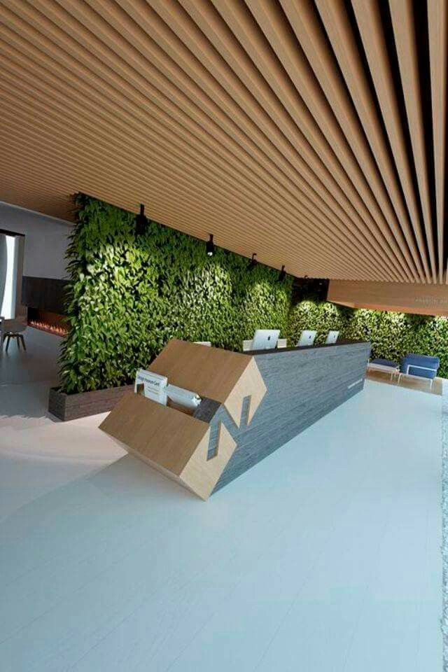 Grow Wall and Slat Ceiling