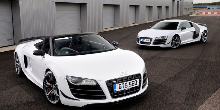 Audi R8 GT Spyder and R8 GT