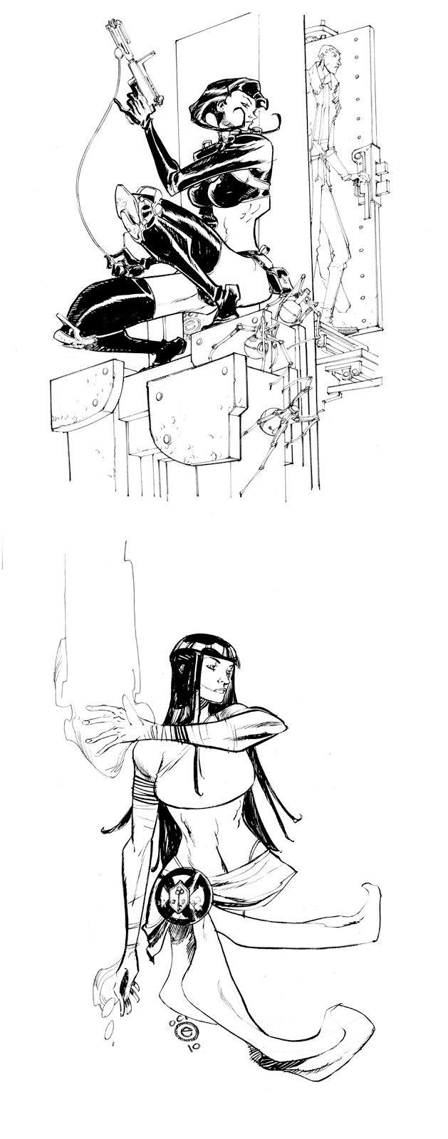 Desenhos do artista Eric Canete   THECAB - The Concept Art Blog