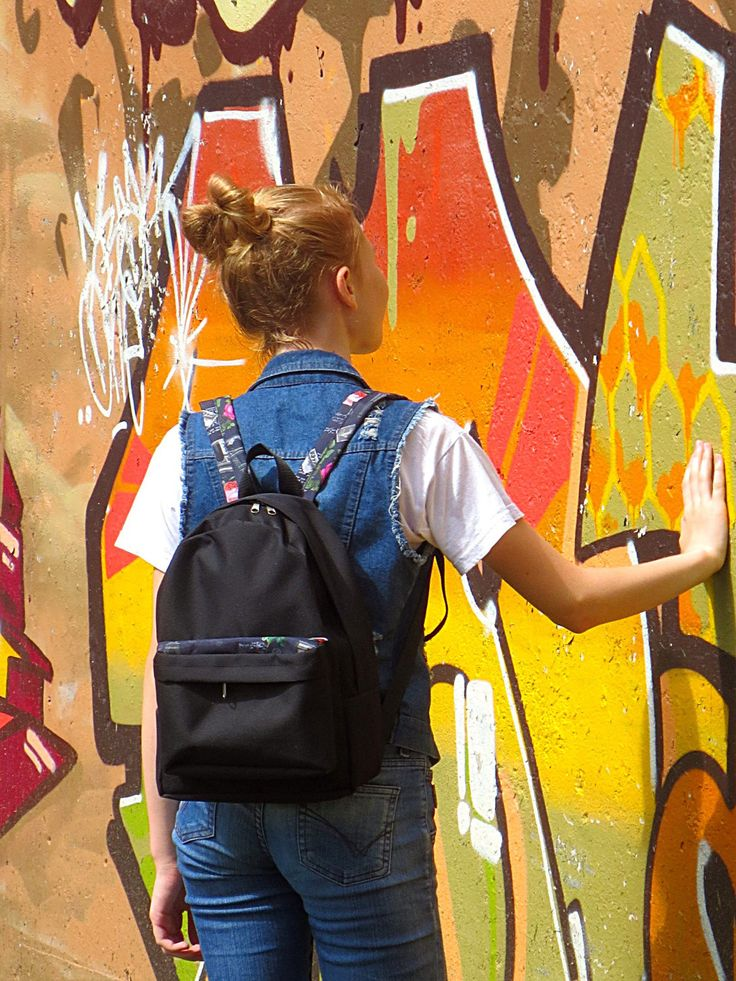backpack,the black ,backpack female,backpack teenager by Lightbackpacks on Etsy