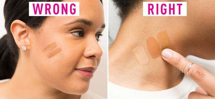 Don't apply concealer before foundation. You'll just end up removing it as you apply your base.