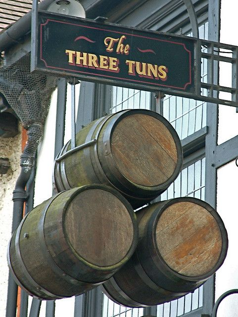 The Three Tuns, Uxbridge, England... photo by Thorskegga Thorn via flickr