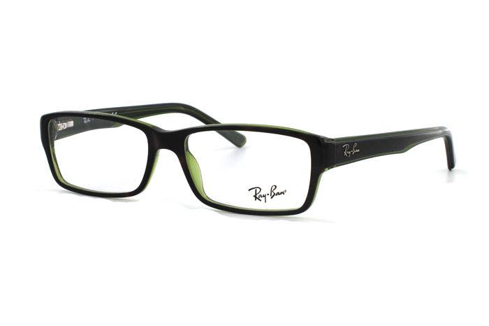 Ray-Ban RX5169 2383 Brille in top havana on green transparent   Schlicht und en vogue! Zu einem supergünstigen Preis erhalten Sie diese Brille in unserem Onlineshop. Super Modelle von Ray Ban in der aktuellen Kollektion.