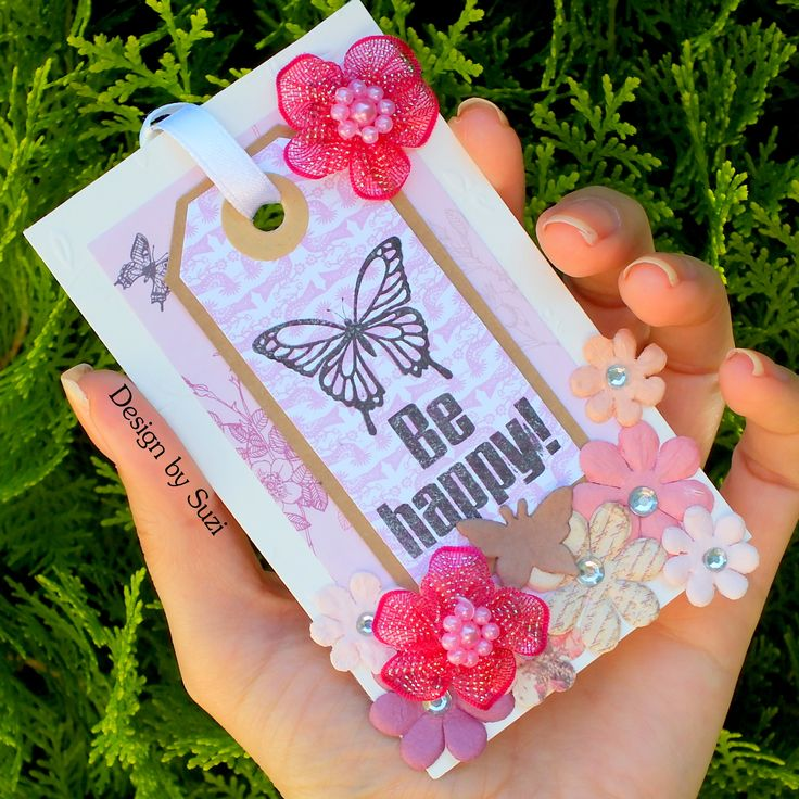 Scrapbook Gift Tag