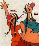 Patora y Upa, hermanos de Patoruzu