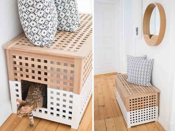 #katzen #diy Schöner Wohnen mit Katzen – It's pretty nice | Interior, Design & …  # Tier DIY