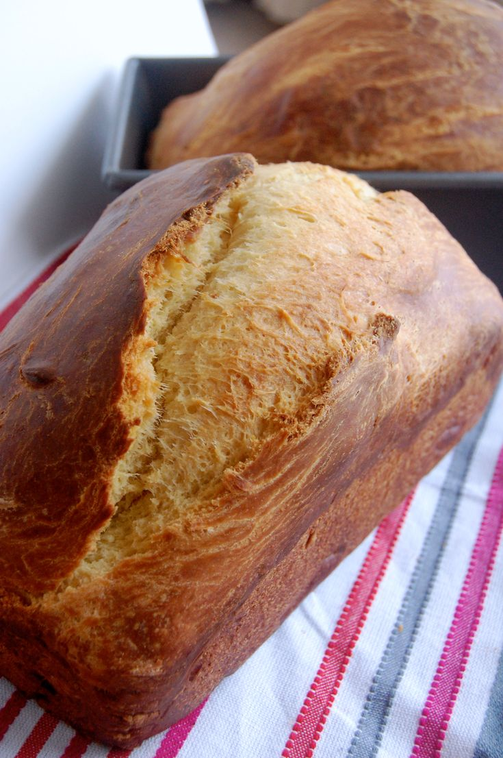 Homemade Brioche for the best grilled cheese and french toast #bread
