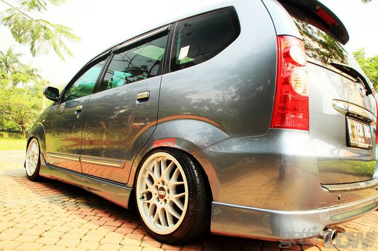 Toyota Avanza with style  Cars  Mobil