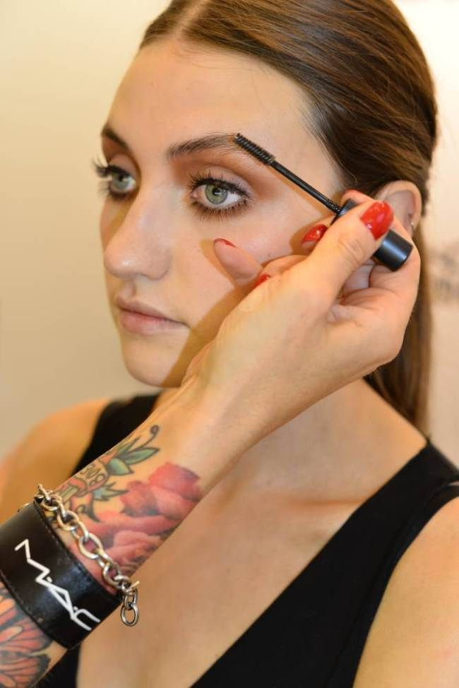 How to apply your makeup like a catwalk model.