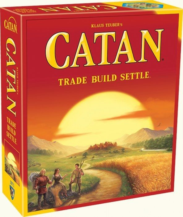 SETTLERS OF CATAN 5th EDITION 2015 REFRESH 3-4 PLAYERS AGE 10+ NEXT DAY DEL FREE