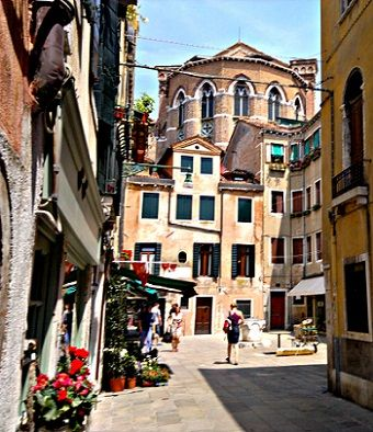 A Venice Square: The charming Italian City of Venice  may be a victim of its own success, with the tourist hordes crowding up its ancient waterways, narrow back streets