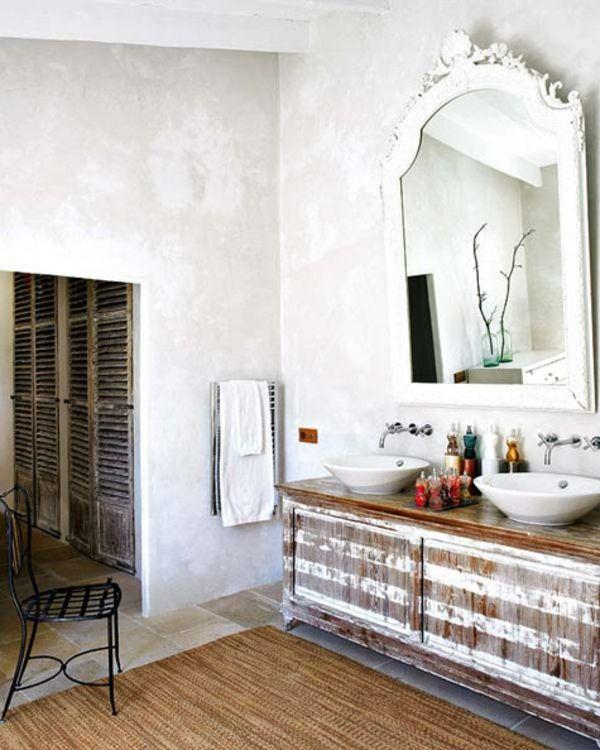 Perfect Badeinrichtung Mit Landhausstil Möbel