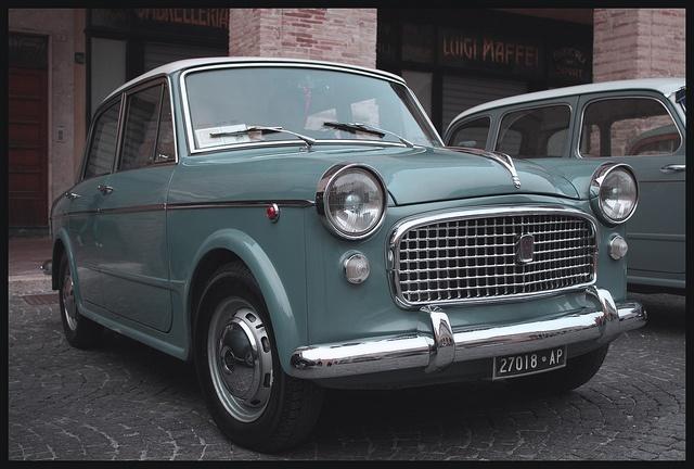 Fiat 1100... Cuántos recuerdos.
