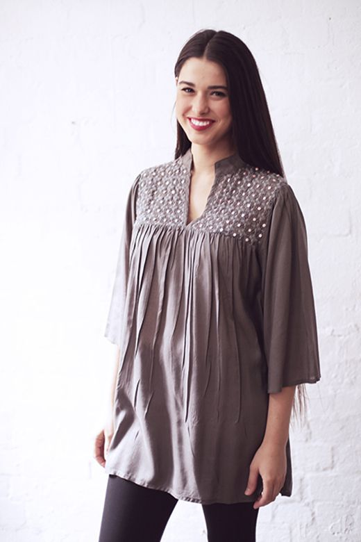 Feminine Lace Blouse http://cakeclothing.net/collections/winter-15/products/feminine-lace-seed-beaded-top
