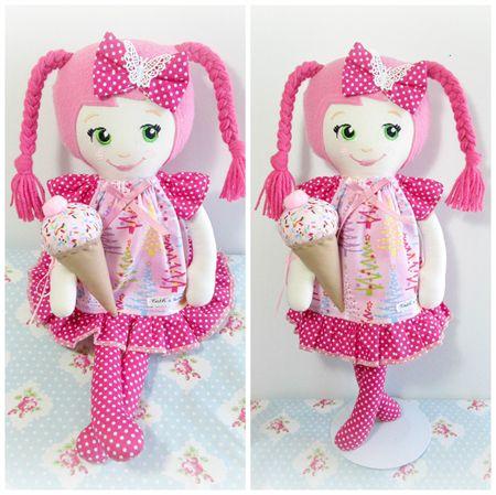 CC Мороженое Doll - Розовое Рождество зеленые глаза