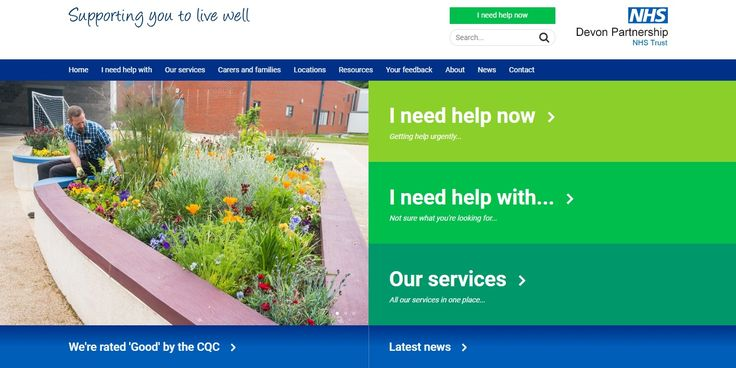 Our new website is now live!  https://www.dpt.nhs.uk/  A big thank you to all the people who use our services, carers, families and our staff for helping us.  Key features:  • 'I need help now' section • Browsealoud software • Information about all our services • A Google services locations map  We'd like to know what you think about the new site, what works, what doesn't or any changes you think we need to consider to help us improve the site further: https://www.dpt.nhs.uk/contact