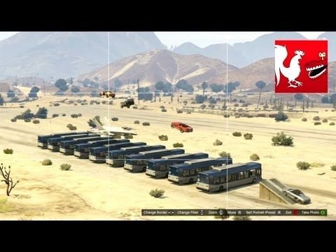 Things to do in GTA V - Achievement Knievel - YouTube Go to the 13:00 mark to se something really cool  stuff :)