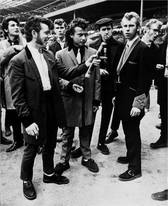 1972 Teddy Boys  .Creepers.  They were called Creepers because of thier shoes...PY...