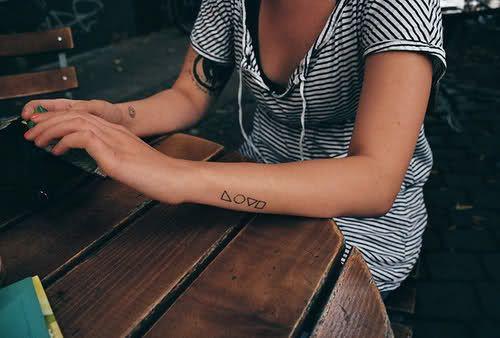 Tattoologist: Wrists.: Tattoo'S Idea, Tattoo'S Inspiration, Shapes Tattoo'S, Tatouage Piercings, Love Is, Body Art, Tattoo'S Piercings, Sticks And Poke, Letters Word