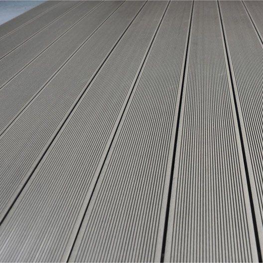 17 meilleures id es propos de planche composite sur pinterest liner pour - Planche de terrasse composite ...