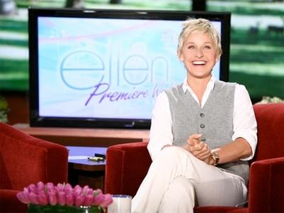 I want tickets to the Ellen Degeneres show! AHHHHHHHH!