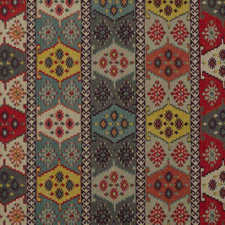 Warwick Fabrics : ANTHROPOLOGY, Colour WATERMELON