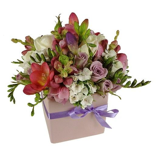 Pretty Pastel Arrangement - Fresh Flowers by Bestow - Florist - Howick - Auckland NZ