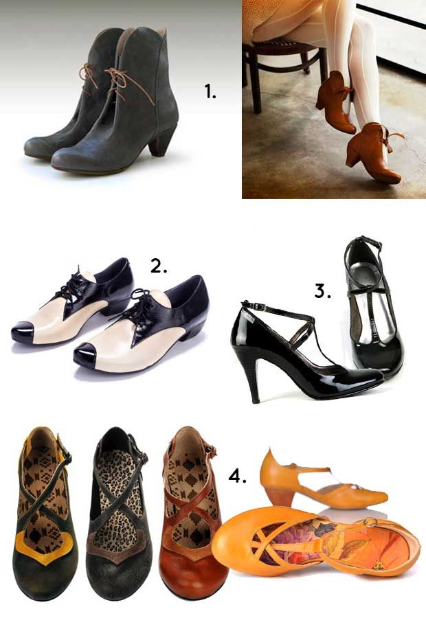 1. Liebling // 2. Michal Miller // 3. Shoemaker // 4. Ellen Rubin, sold at Umbrella Shop