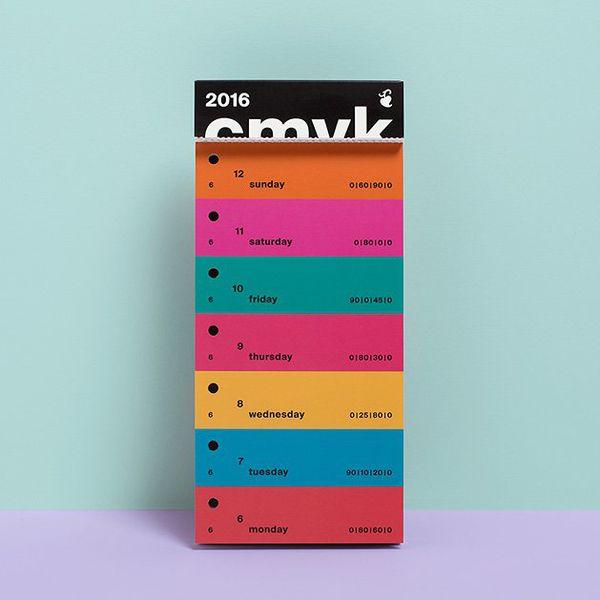 Buy: CMYK Color Swatch Calendar