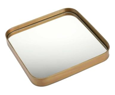 Miroir, doré - L25