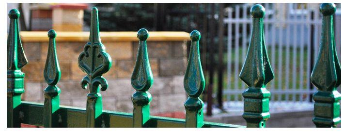 Staket & grindar i smide Från 500kr m2