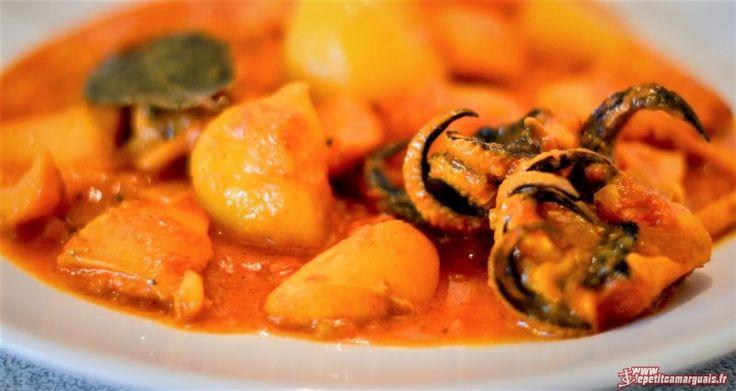 Recette Rouille de seiche à la sétoise est un plat de Poisson typique du Sud de la France, très gouteux et gourmand, surtout avec sa Sauce & Marinade aux