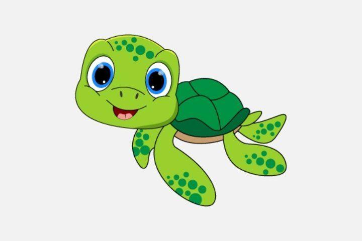 Cute Turtle Cartoon 749463 Illustrations Design Bundles Cute Turtle Cartoon Cute Turtles Cat Pattern