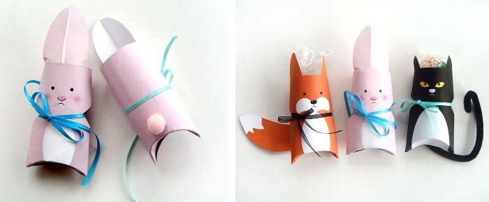 DIY Anleitung: Geschenkverpackung in Tierform von ars pro toto | DaWanda Blog