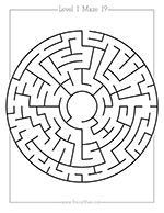 100+ Free Mazes, 6 Levels of Play, Easy Print Format. Crisp Clean Lines, No More Blurry Mazes! Educational and Thematic Connections for Teachers!